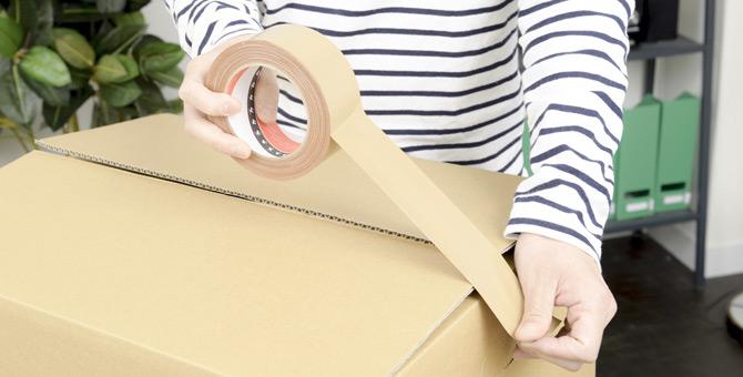 ダンボール以外に無料の梱包資材はありますか?